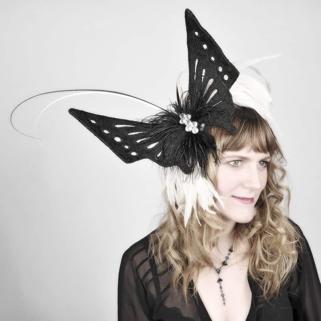 Phamie Gow Butterfly Hat